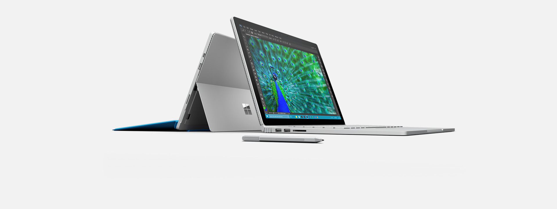 Surface Pro 4&Surface Book