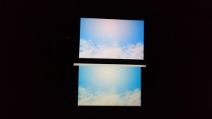 iPhone 6s Plus与Z1屏幕对比