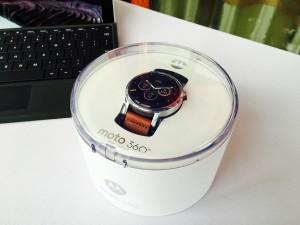 Moto 360第二代包装