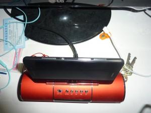 侧面,双卡卡槽其中一个是Micro SD,Micro Sim共用的设计
