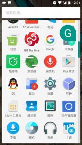 安卓6.0应用列表-列表设计