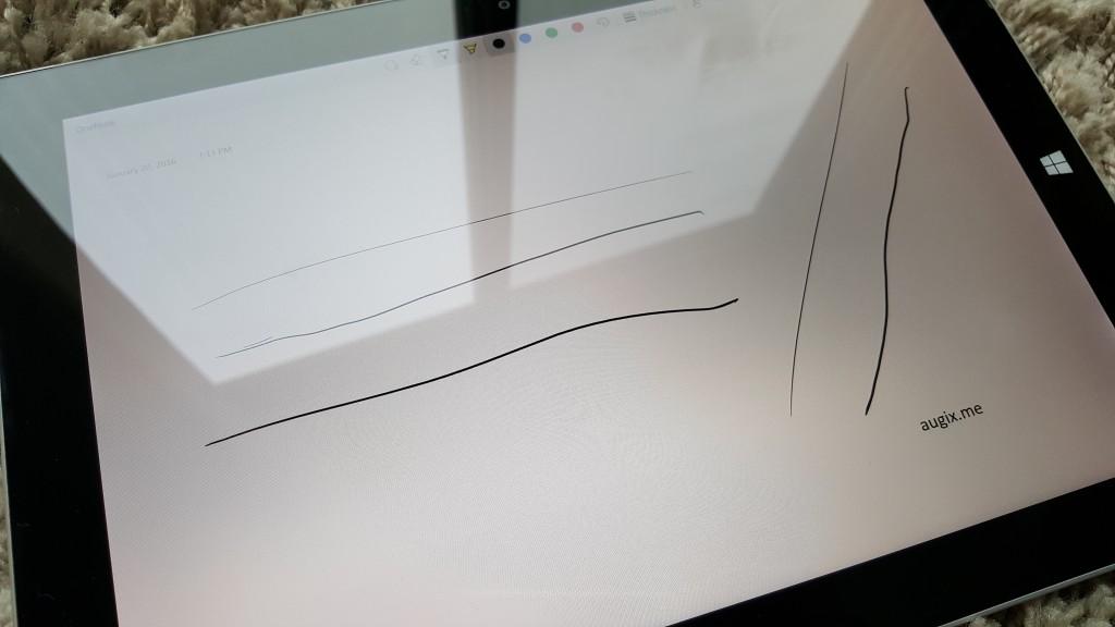 Surface Pen 3压感