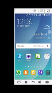 三星安卓5.0全局单手模式