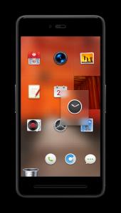 Smartisan OS桌面毛玻璃效果