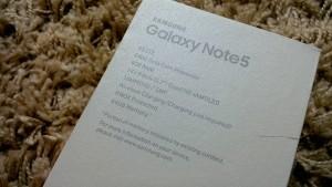 note5包装背面