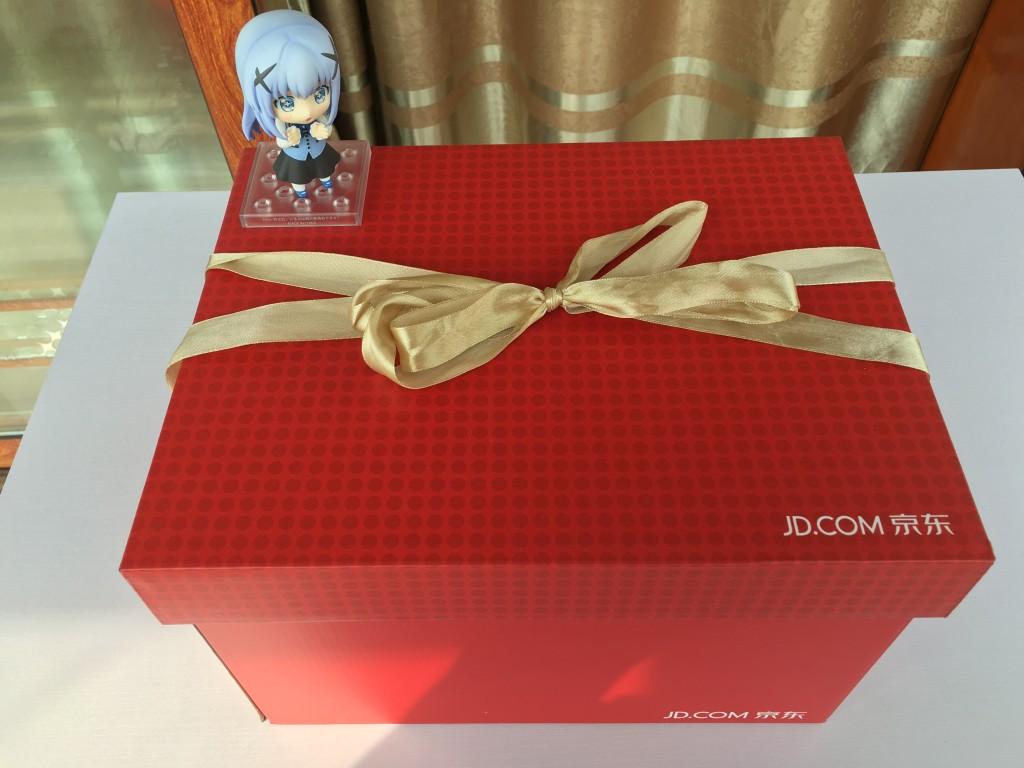 Galaxy S7 Edge京东包装箱
