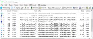 会出现很多hosts是tlu.dl.delivery.md.microsoft....