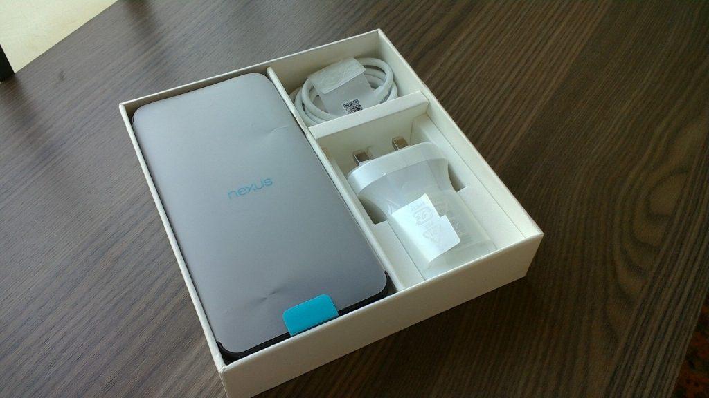 Nexus5x包装