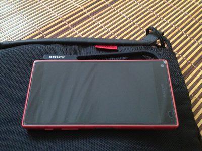 Sony Xperia Z5 Compact四角破碎的前膜