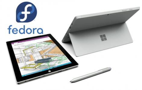 Surface3Fedora