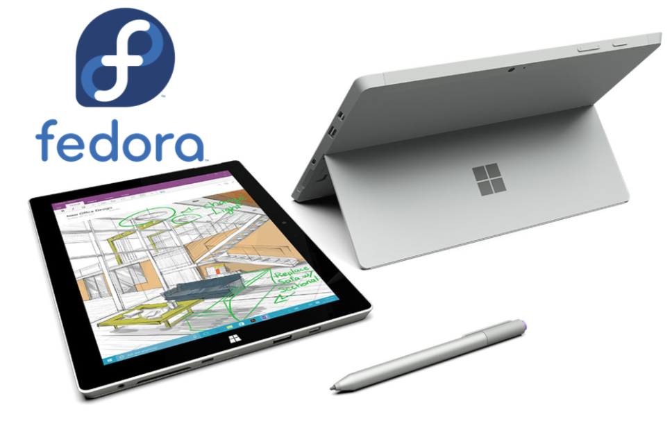 Surface3Fedora