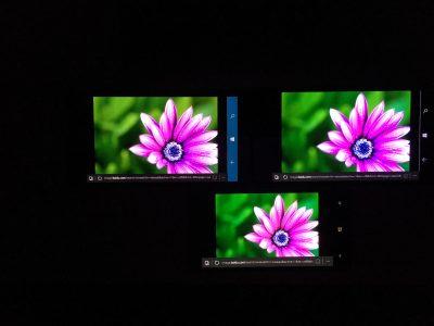 屏幕色彩倾向对比