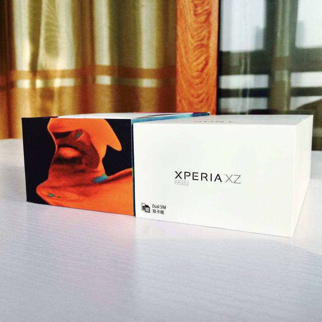 Xperia XZ外包装