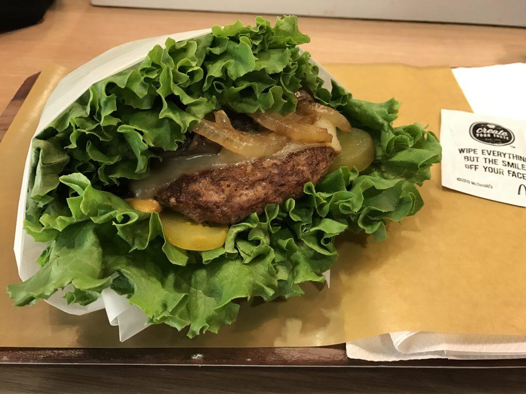 奇特的麦当劳汉堡