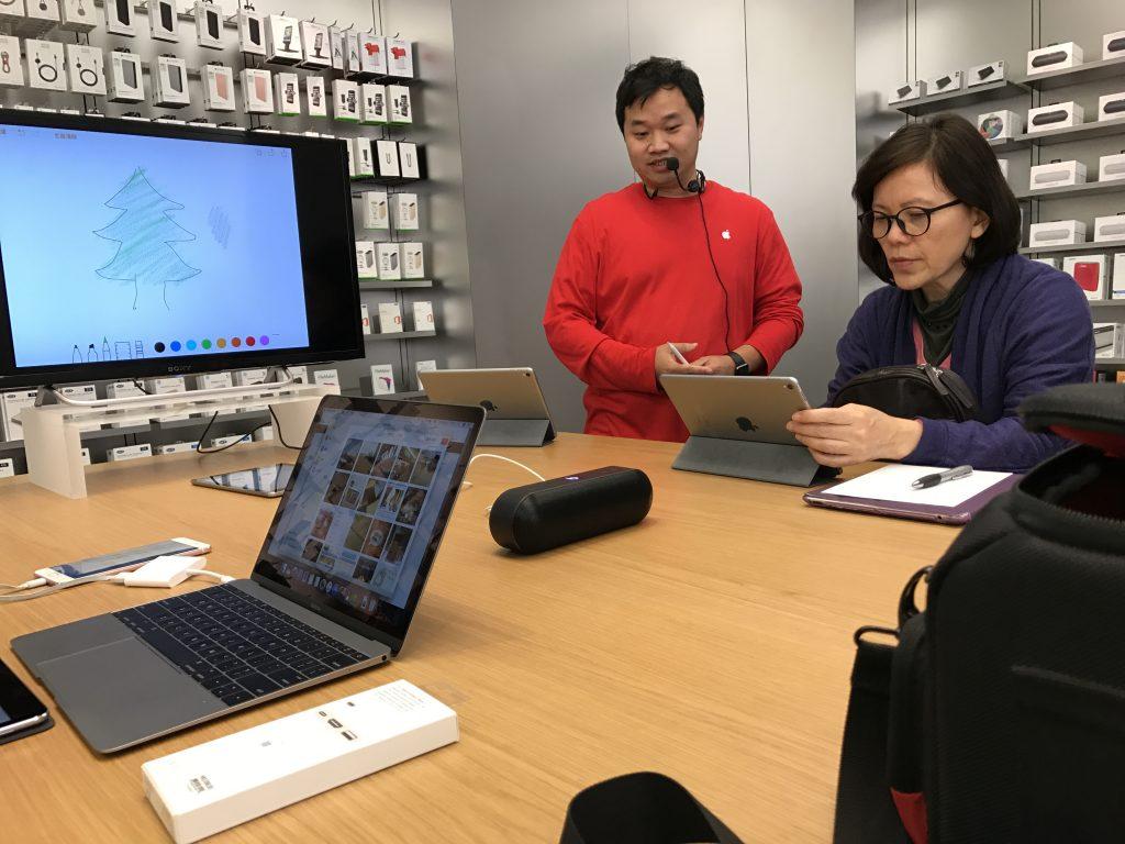 Apple Store里面的讲座
