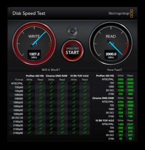SSD速度测试