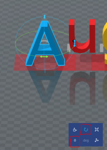 3DBuilder-调节角度