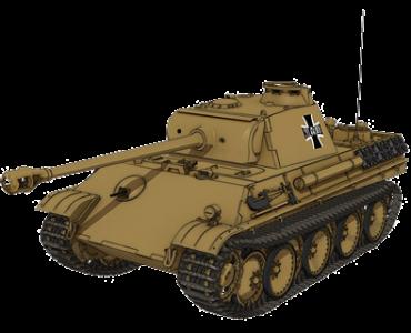 """""""黑豹""""坦克"""