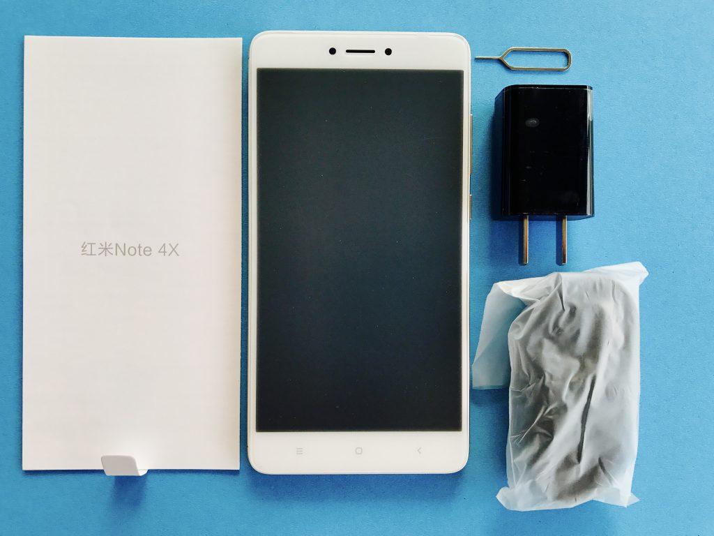 红米Note 4X包装内容