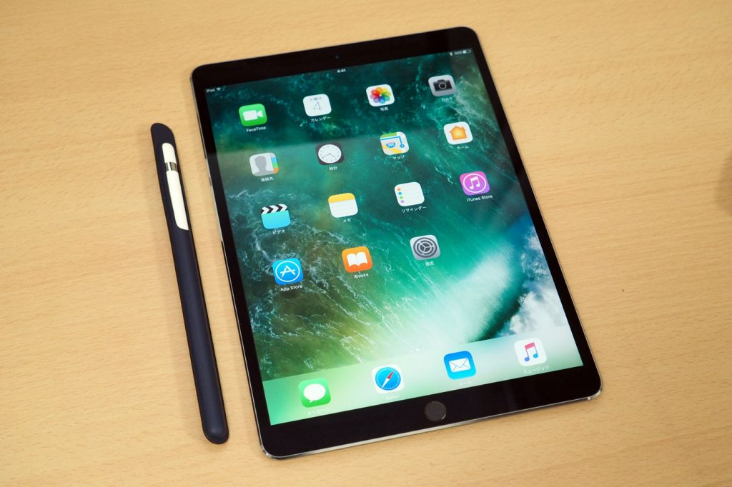 iPad Pro 10.5英寸比前面版本边框更窄
