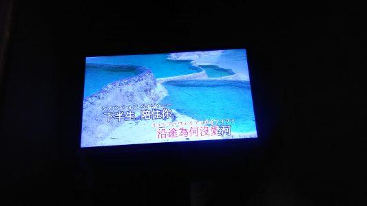 卢巧音的[好心分手],由于看到中文字上面的日文译音我们都笑趴了,好好的一首伤情歌给我们唱成搞笑歌了...