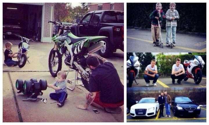 男人永远不会长大,只是玩具越来越贵。