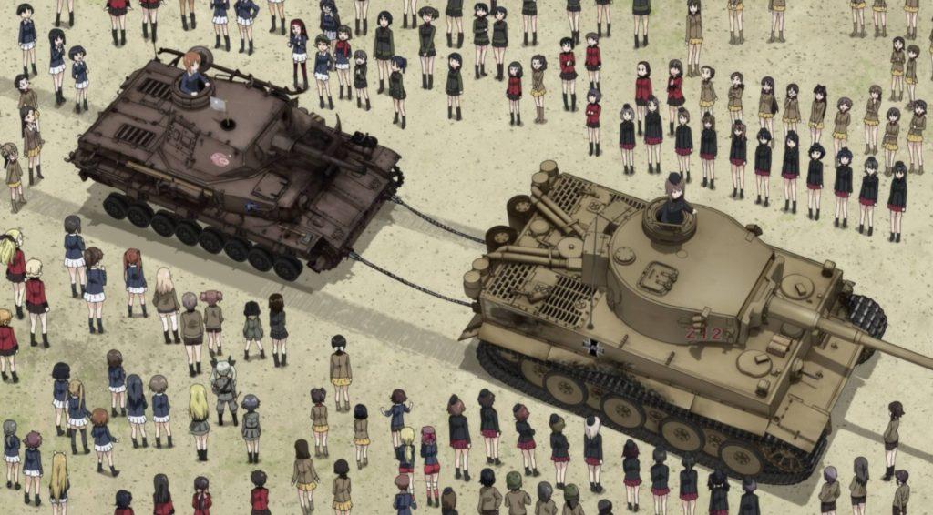 《少女与战车》剧场版片段