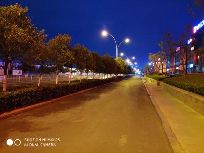 小米Mix 2s的AI相机模式夜景样张