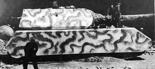 """二战时期德国""""鼠式""""坦克"""