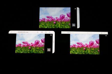 魅族16屏幕显示效果对比