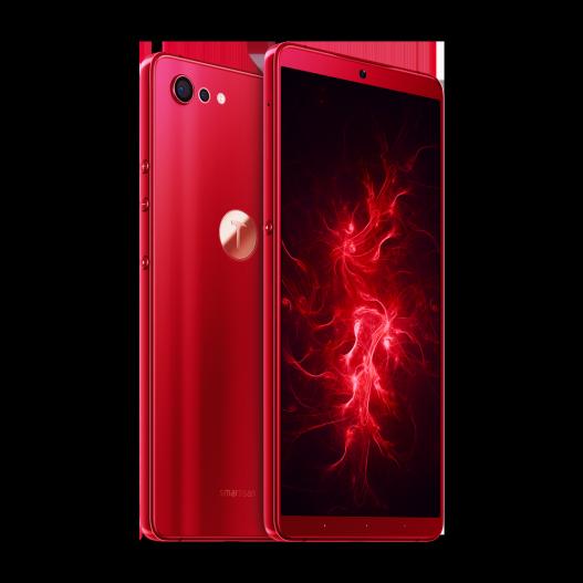 坚果Pro 2s炫光红版本