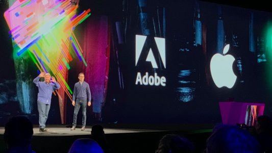 参加Adobe Max的菲利普