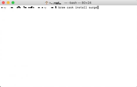 用Homebrew的cask方法安装GUI软件