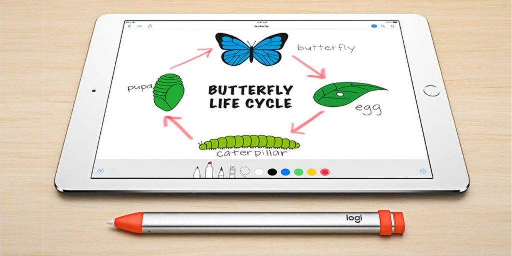 罗技的iPad专用手写笔Crayon