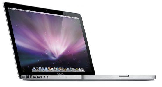 曾经有用Mini DisplayPort接口的MacBook Pro