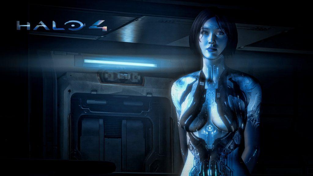 """游戏""""光晕中的Cortana"""