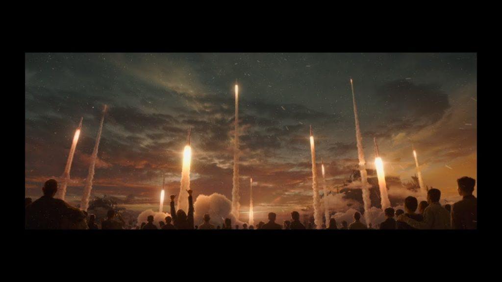 《流浪地球》片段