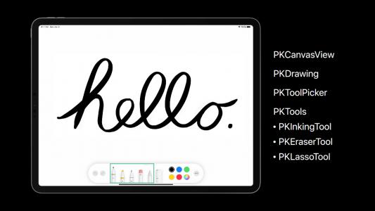 PencilKit应用