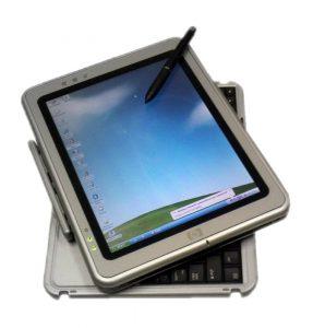 搭载Windows XP平板系统的惠普TC1100