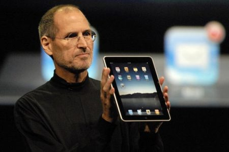 乔布斯发布iPad