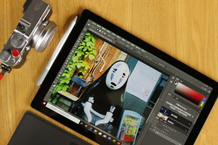 Surface Pro 7运行Photoshop