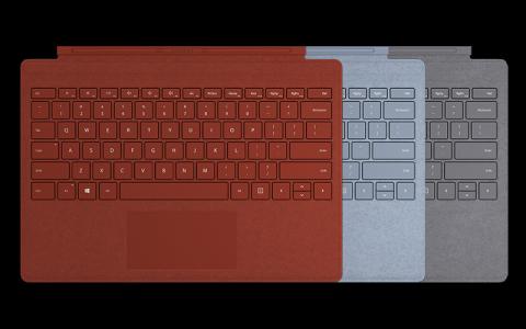 波比红和冰晶蓝配色键盘盖