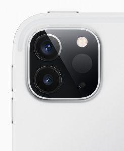 新版iPad Pro上的激光雷达扫描仪