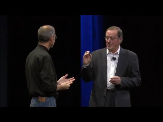 乔布斯在MacBook Air发布会