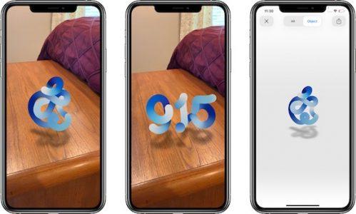 苹果发布会的AR页面