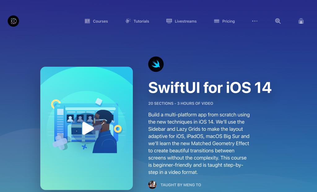 Design+Code的SwiftUI教程